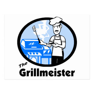 The Grillmeister Postcard