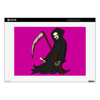 The Grim Reaper - Book of Monsters - Halloween Decal For Laptop