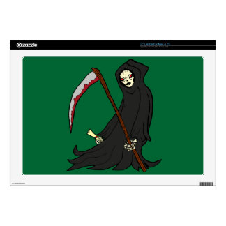 "The Grim Reaper - Book of Monsters - Halloween Skin For 17"" Laptop"