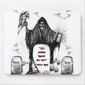 The grim reaper mousepad by Clark Ulysse