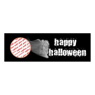 The Grim Reaper Ride Halloween Photo Frame Double-Sided Mini Business Cards (Pack Of 20)