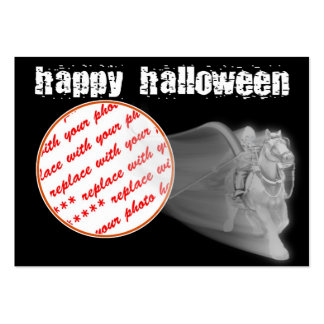 The Grim Reaper Ride Halloween Photo Frame Large Business Cards (Pack Of 100)