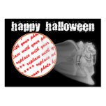The Grim Reaper Ride Halloween Photo Frame Large Business Card
