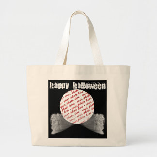 The Grim Reaper Ride Halloween Photo Frame Large Tote Bag
