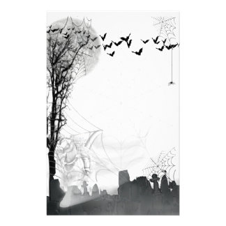 The Grim Reaper Rides Again Stationery