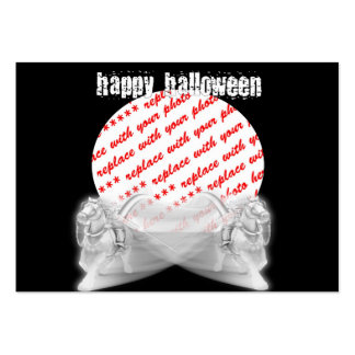The Grim Reapers Ride Halloween Photo Frame Large Business Cards (Pack Of 100)