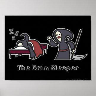 The Grim Sleeper [Black Poster]