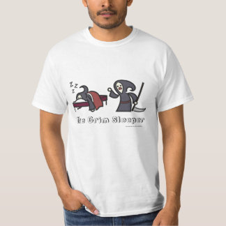 The Grim Sleeper (White T-Shirt) Tee Shirt
