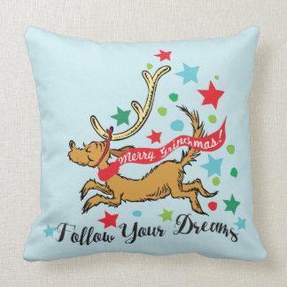 The Grinch | Max - Follow Your Dreams Throw Pillow