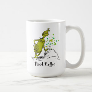 The Grinch | Need Coffee Coffee Mug