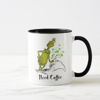 The Grinch | Need Coffee Mug