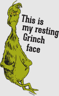 40060bbdc The Grinch | Resting Grinch Face T-Shirt