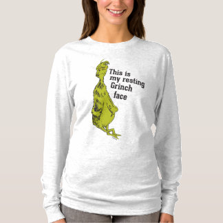 The Grinch | Resting Grinch Face T-Shirt
