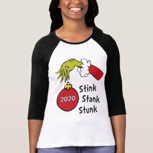 Ladiess Short Chrismas 2020 Sweatshirt Hoodie Quarantined Shirt Long Sleeve Grinch Stole Christmas Shirt Grinch Six Feet People Shirt