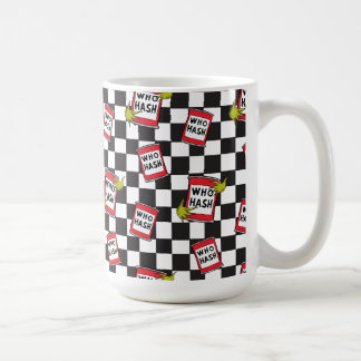 The Grinch | Who Hash Pattern Coffee Mug