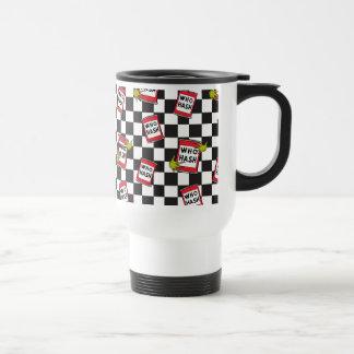 The Grinch | Who Hash Pattern Travel Mug