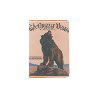The Grizzly Bear Rag Passport Holder