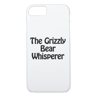 the grizzly bear whisperer iPhone 7 case