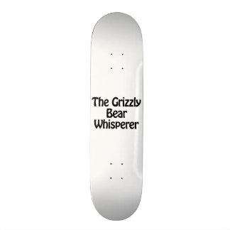 the grizzly bear whisperer skate decks