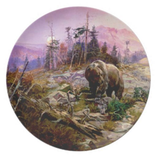 The Grizzly Dinner Plates