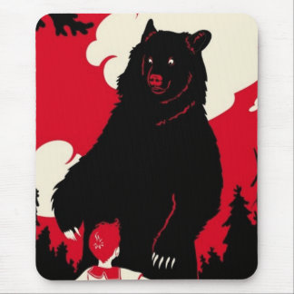 The Grizzly Mouse Pad