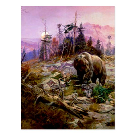 The Grizzly Postcard