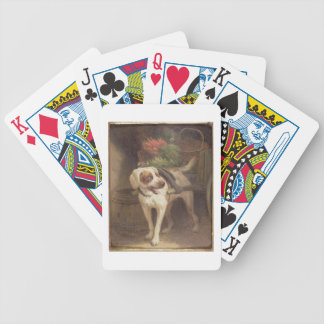 The Grocer's Dog (oil on panel) Bicycle Playing Cards