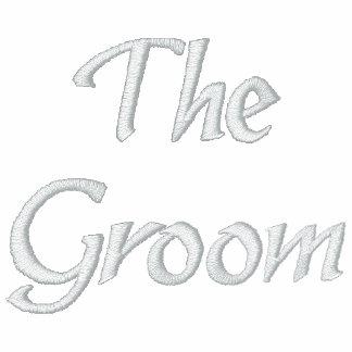 The Groom Embroidered Polo Shirt