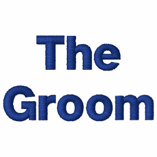 The Groom Embroidered Shirt