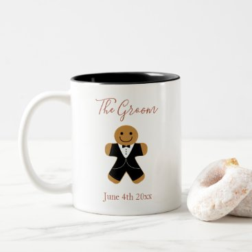 Wedding Themed The Groom Gingerbread   Mug
