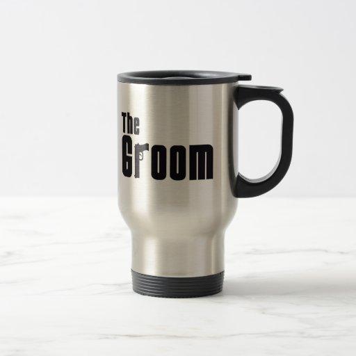 The Groom (Mafia) 15 Oz Stainless Steel Travel Mug