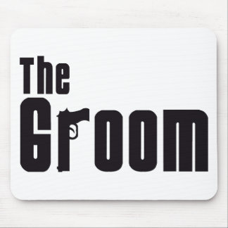 The Groom (Mafia) Mouse Pad