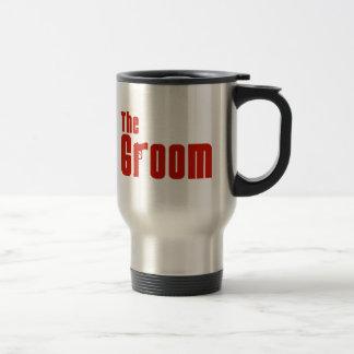 The Groom (Mafia Red) Mugs