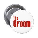 The Groom (Mafia Red) Pin