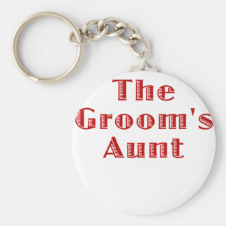 The Grooms Aunt Keychain