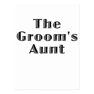 The Grooms Aunt Postcard