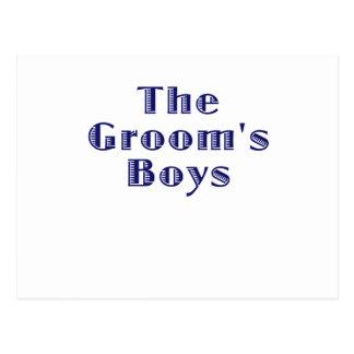 The Grooms Boys Postcards