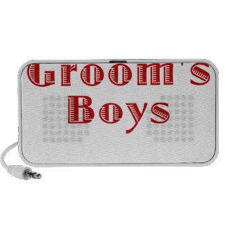 The Grooms Boys Laptop Speakers