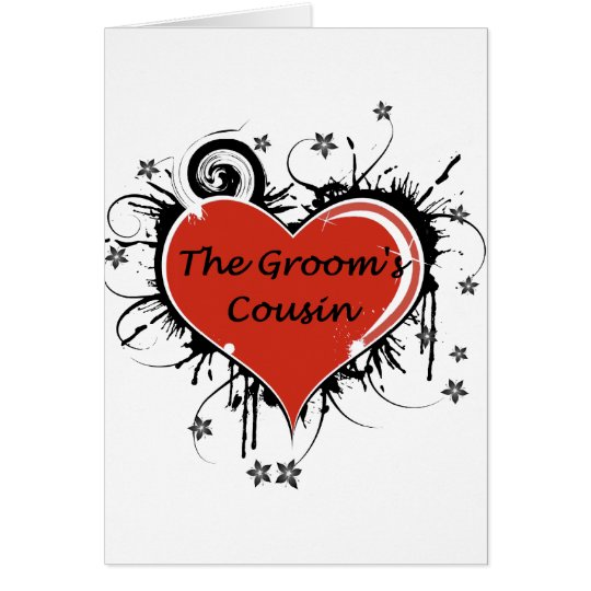 The Groom's Cousin Card