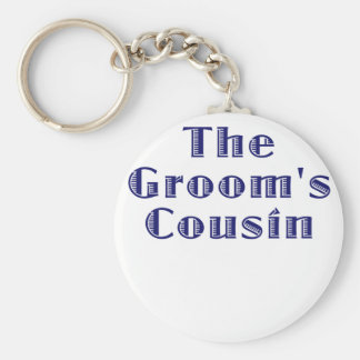 The Grooms Cousin Keychain