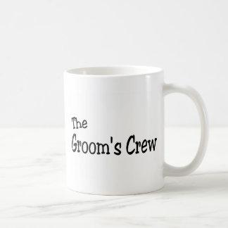 The Grooms Crew (Black) Mug