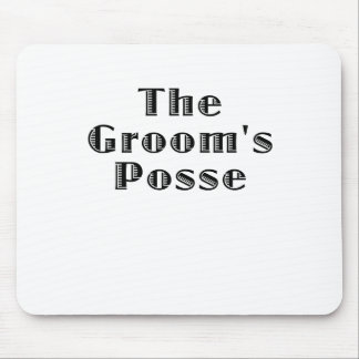 The Grooms Crew Mouse Pad