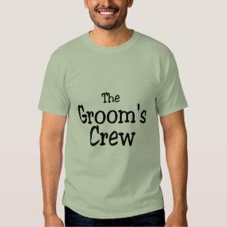 The Grooms Crew Shirt