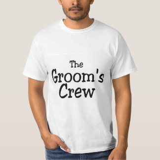 The Grooms Crew T Shirt