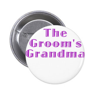 The Grooms Grandma 2 Inch Round Button