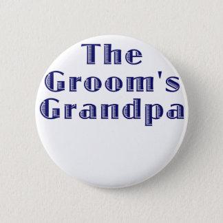 The Grooms Grandpa Pinback Button