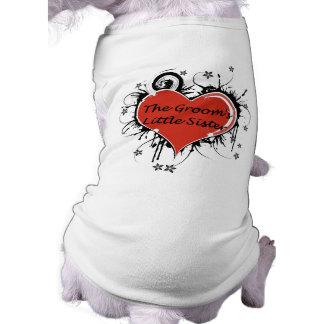 The Groom's Little Sister Dog T-shirt