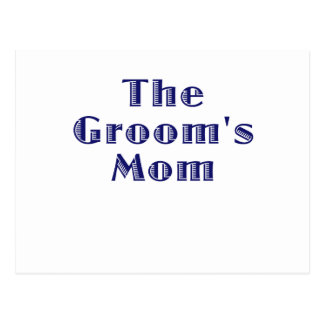 The Grooms Mom Postcards