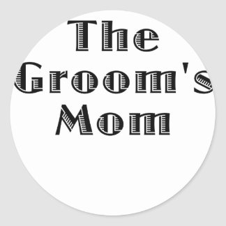 The Grooms Mom Stickers