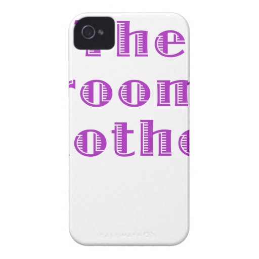 The Grooms Mother iPhone 4 Cover